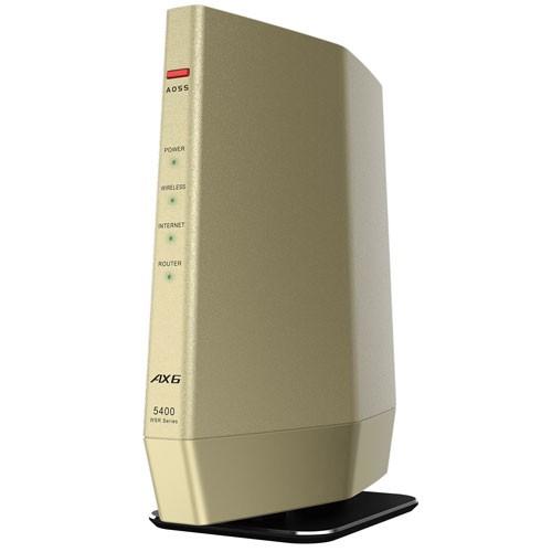 バッファロー WSR-5400AX6-CG 11ax(Wi-Fi 6)対...