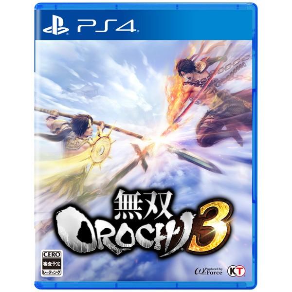 【PS4】無双OROCHI 3 通常版【発売日以降 出荷予...