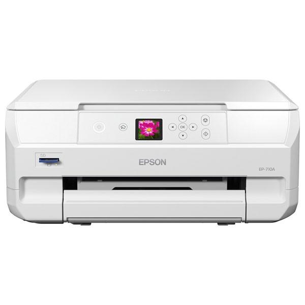 エプソン EP-710A A4プリント対応 インクジェット複合機EPSON Colorio(カラリオ)[EP710A]【返品種別A】