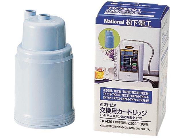 パナソニック TK-74201 整水器用交換カートリッジ1個入Panasonic[TK74201] 返品種別B