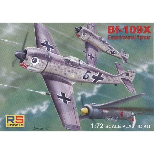 ハセガワ 1/72 メッサーシュミット Bf109X【92085...