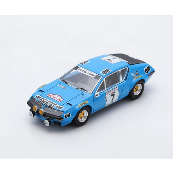 スパーク 1/43 Alpine A310 No.7 3rd Tour de Cor...