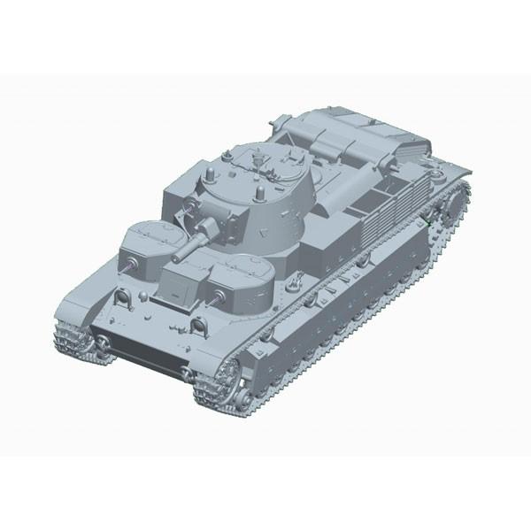 トランペッター 1/72 ソビエト軍 T-28多砲塔戦車(...