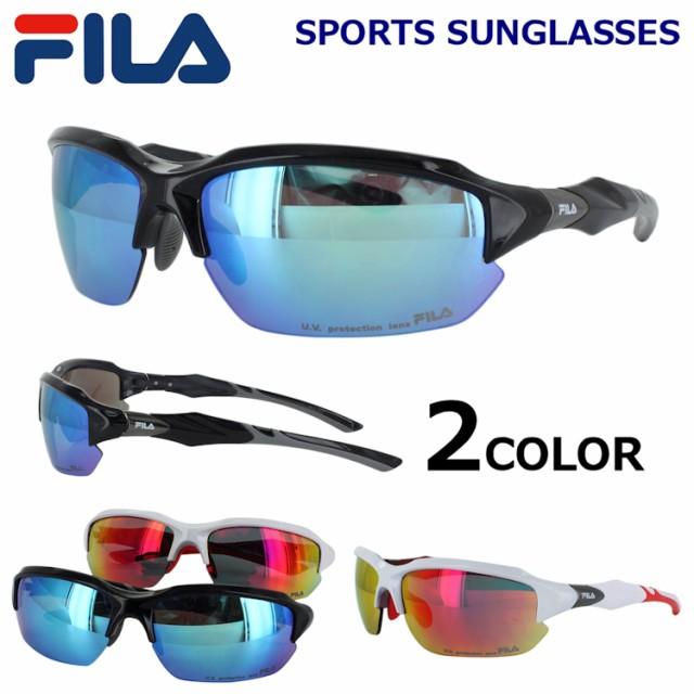 FILA スポーツサングラス メンズ UVカット 紫外線...