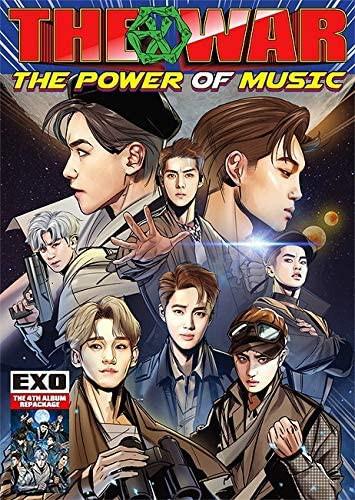 【中古】EXO 4集 リパッケージ THE WAR : The Pow...
