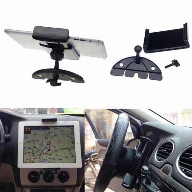 自動車 タブレットホルダー CDスロットマウント ...