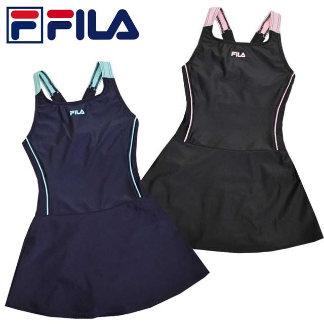 スクール水着 女子 子供 FILA(フィラ) スカート A...