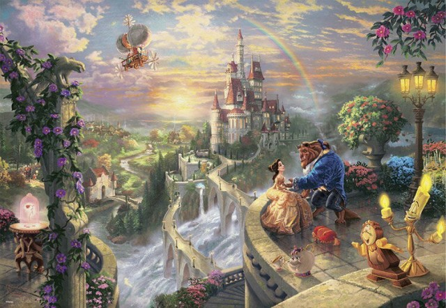 TEN-D1000-487 ディズニー Beauty and the Beas...