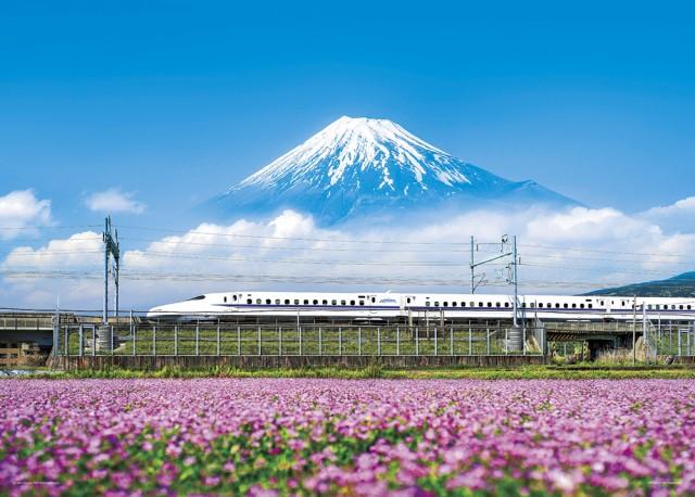 れんげの花と富士山 静岡 ジグソーパズル 日本の...