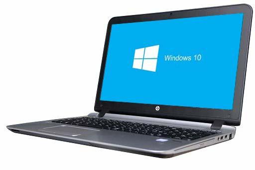 HP ProBook 450 G3 Windows10 64bit WEBカメラ HD...