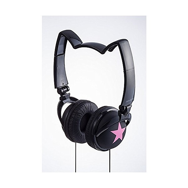mix-style ネコミミヘッドフォン Star-BK/PK / ...