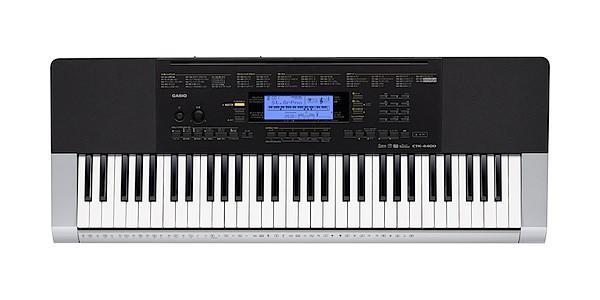 CASIO CTK-4400 61鍵盤 タッチレスポンス搭載キー...