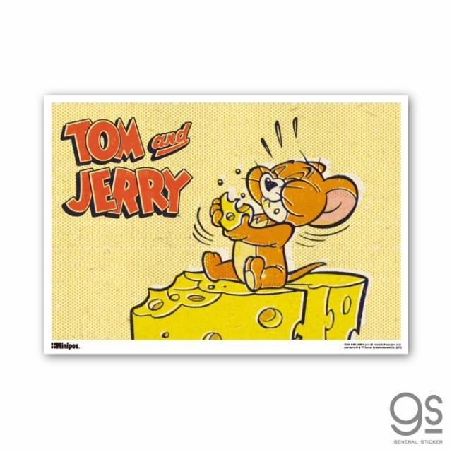 トムとジェリー ミニポスター もぐもぐ キャラク...