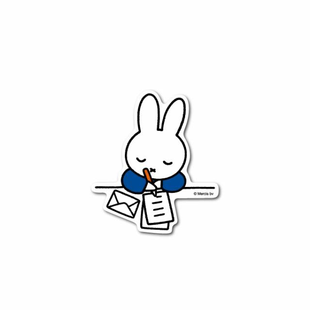 miffy ミッフィー 手紙 キャラクターステッカー ...