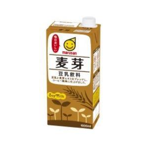 4ケースまで1個口 マルサン 豆乳飲料 麦芽 1000ml...