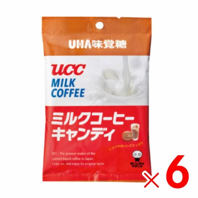 味覚糖 UCCミルク珈琲キャンディ 98g ×6袋 セッ...
