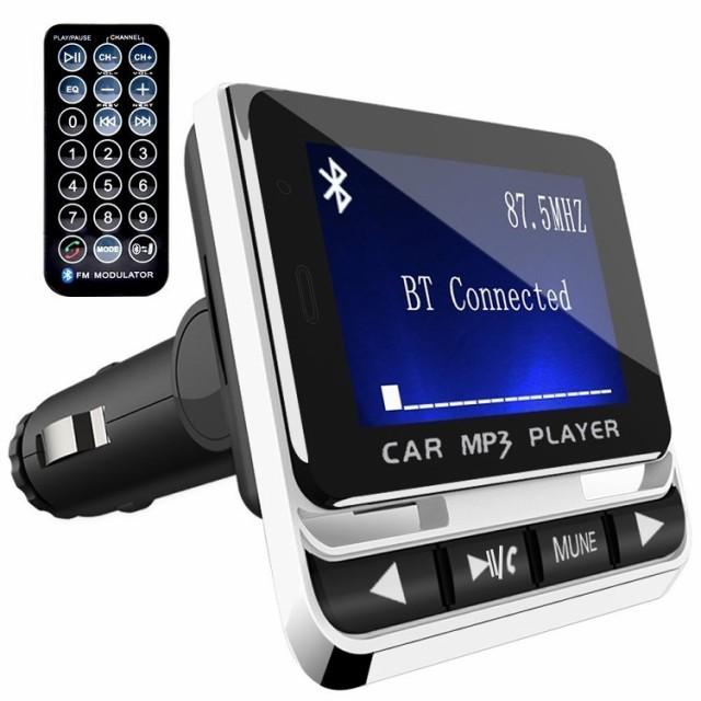 FMトランスミッター TC Bluetooth ワイヤレス 発...