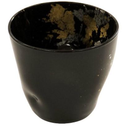 【新商品】フリーカップSサイズ 古代金箔漆黒【通...