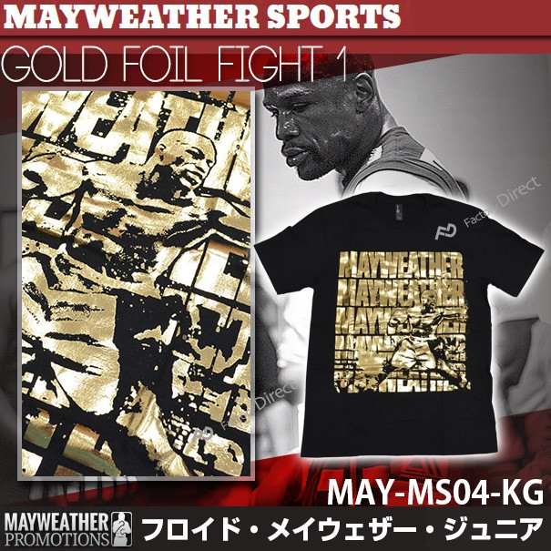 may-ms04-kg メイウェザーSports&Boxing GOLD FOI...