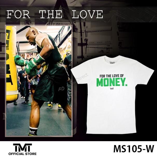 ザ・マネーチーム Tシャツ FOR THE LOVE 白ベース...