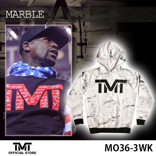 THE MONEY TEAM ザ・マネーチーム パーカーMARBLE...