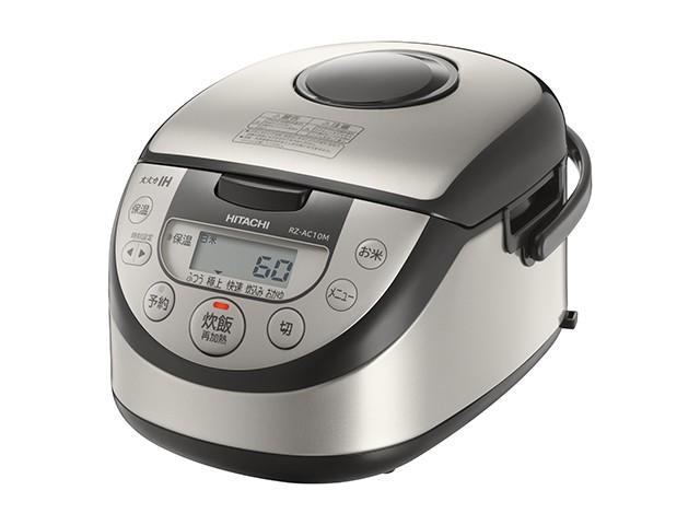 日立 IHジャー炊飯器 ~5.5合炊き RZ-AC10M-S
