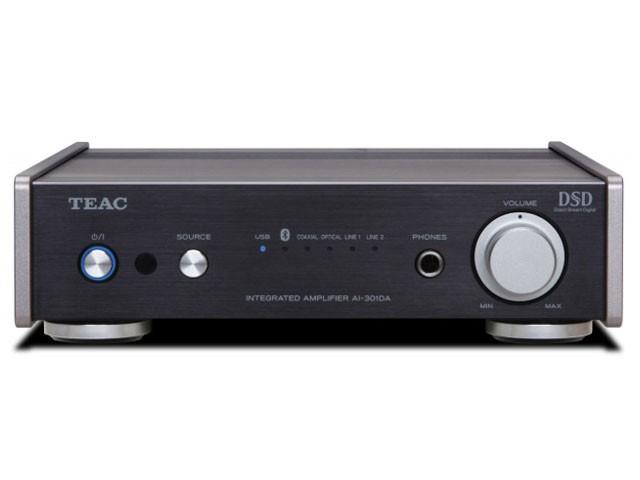 TEAC USB DAC/プリメインアンプ ブラック AI-301D...