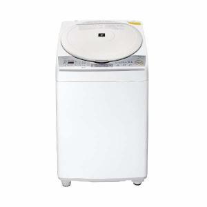 シャープ 縦型洗濯乾燥機 (洗濯8.0kg/乾燥4.5kg...