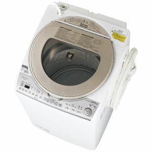 【配送設置費無料】シャープ 洗濯乾燥機 (洗濯8....
