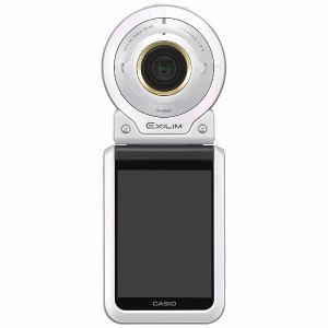 カシオ EX-FR100L-WE コンパクトデジタルカメラ E...