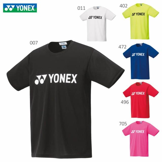 YONEX 16501 ユニドライTシャツ ウェア(ユニ/メン...