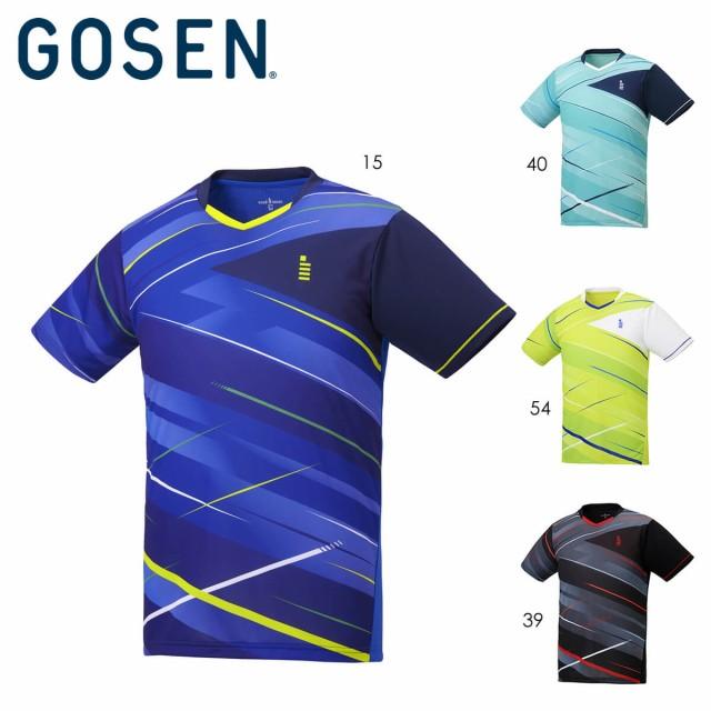 GOSEN T2046 ゲームシャツ(メンズ/ユニ) バドミン...
