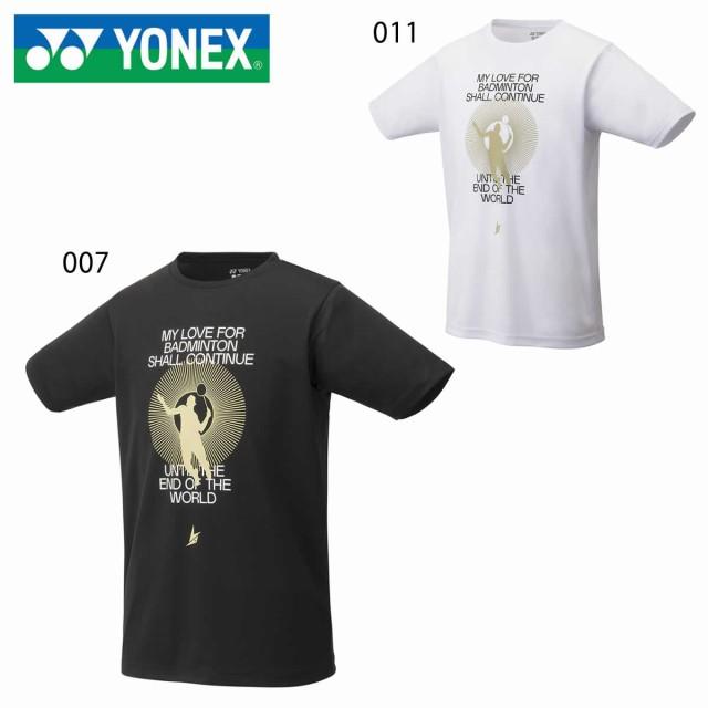 YONEX 16564 ユニドライTシャツ バドミントンウェ...