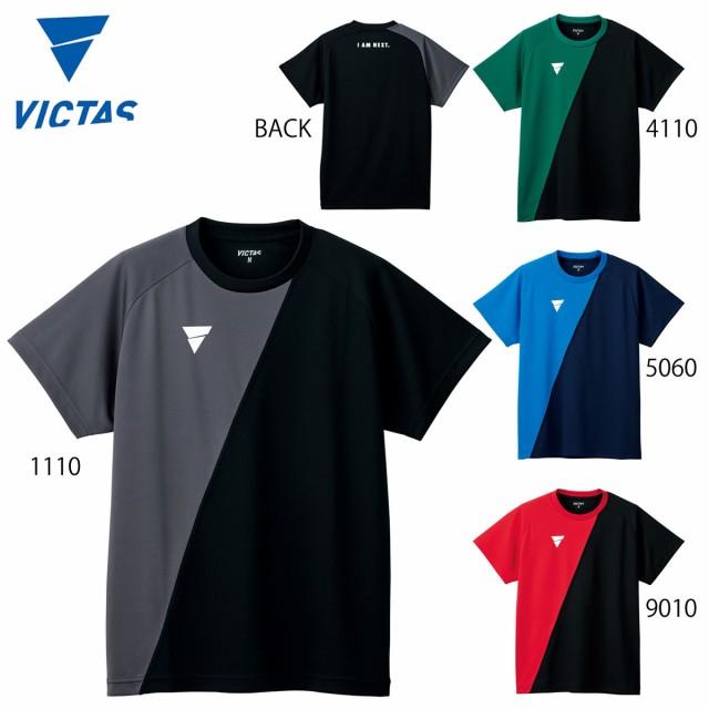 VICTAS 532101 V-TS230 Tシャツ 卓球ウェア(メン...