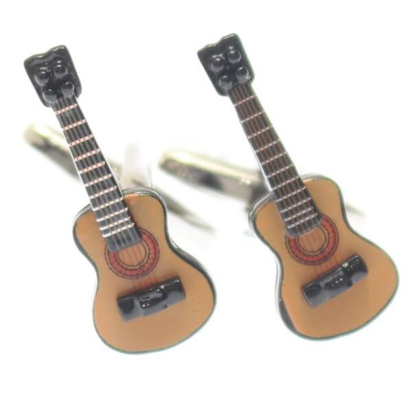 音楽好きさんに・リアルなギターのカフス