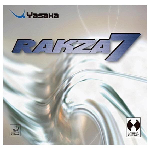 ヤサカ YASAKA ラクザ7 卓球ラバー [カラー:レッ...