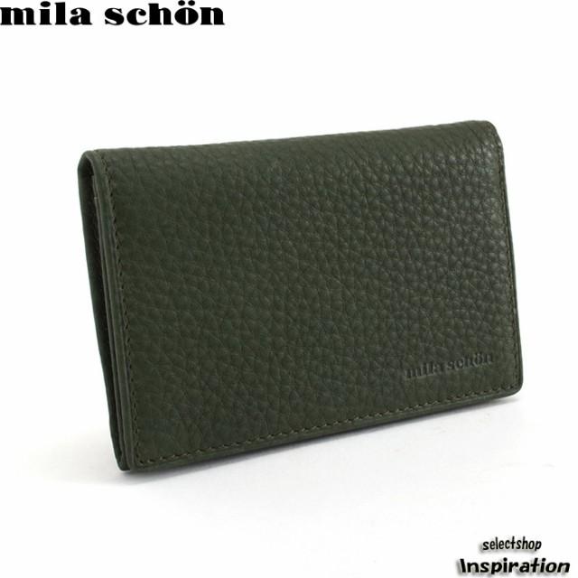 ミラショーン mila schon 名刺入れ カードケース ...