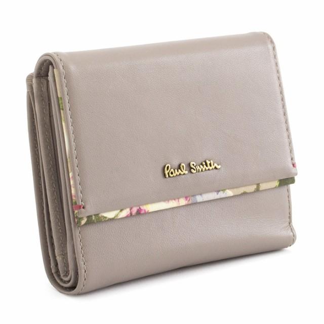 ポールスミス 財布 二つ折り財布 グレー系 Paul S...