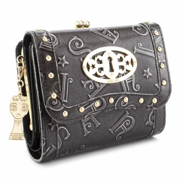 展示品箱なし アナスイ 財布 三つ折り財布 がま口...