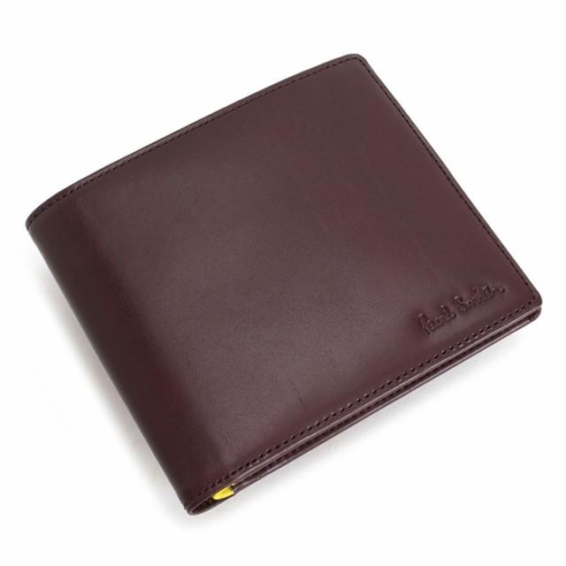 ポールスミス 財布 二つ折り財布 カード&札 ワイ...
