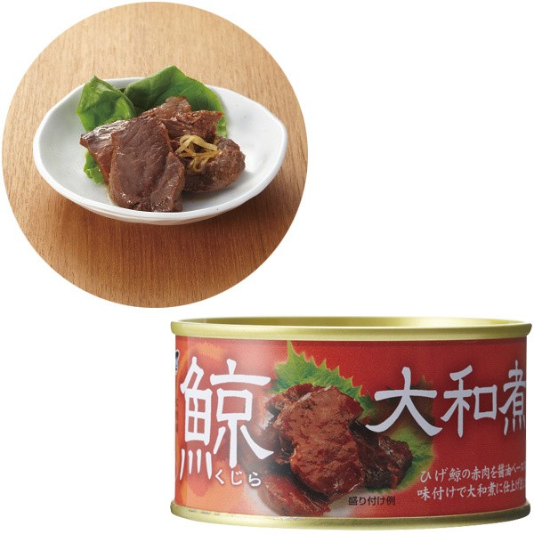 缶詰木の屋石巻水産 鯨大和煮おつまみ/494151210...