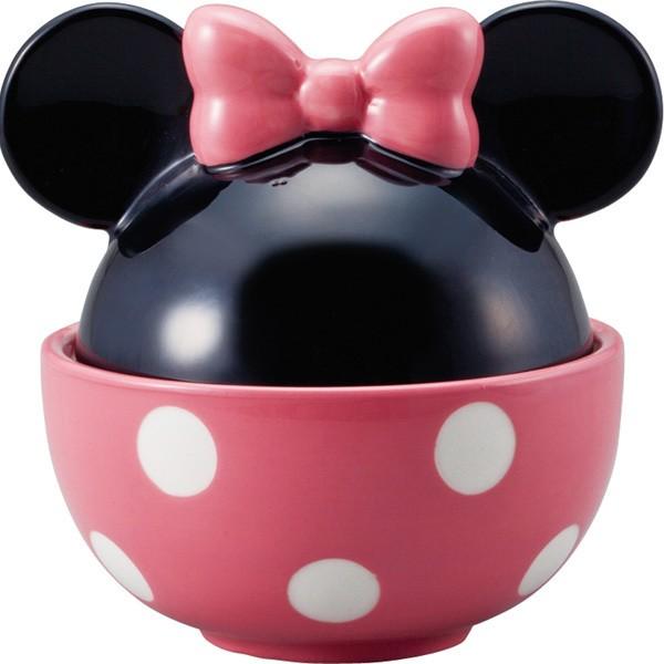 蓋付きどんぶり ミニーマウス ディズニープレゼ...