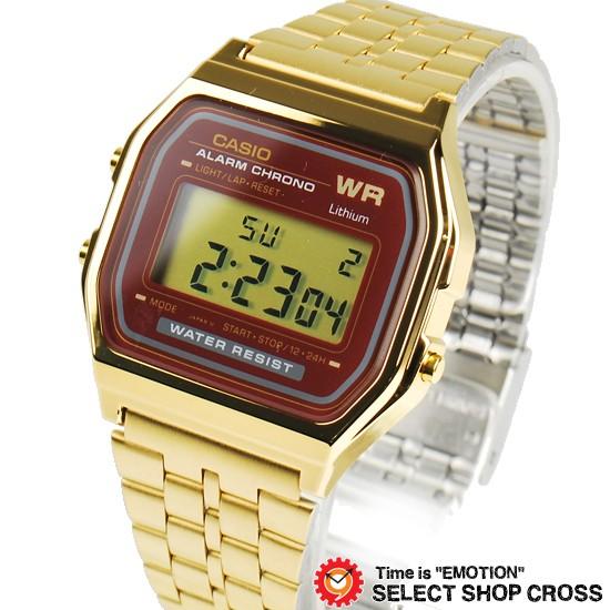 CASIO カシオ 腕時計 デジタル A159WGEA-5DF ゴー...