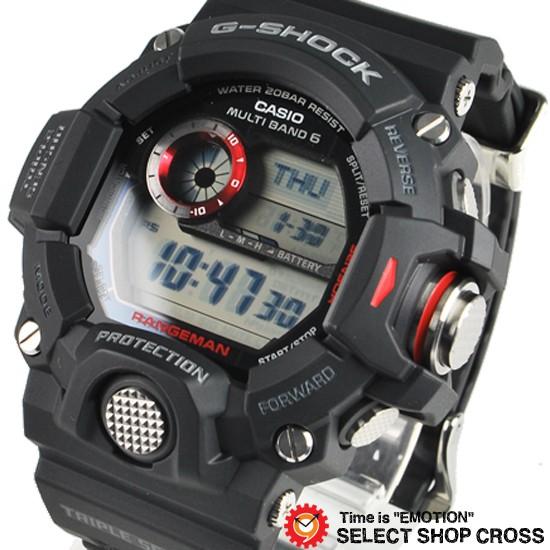34027956a7 Gショック カシオ G-SHOCK CASIO メンズ 腕時計 電波 ソーラー デジタル マスターオブG RANGEMAN