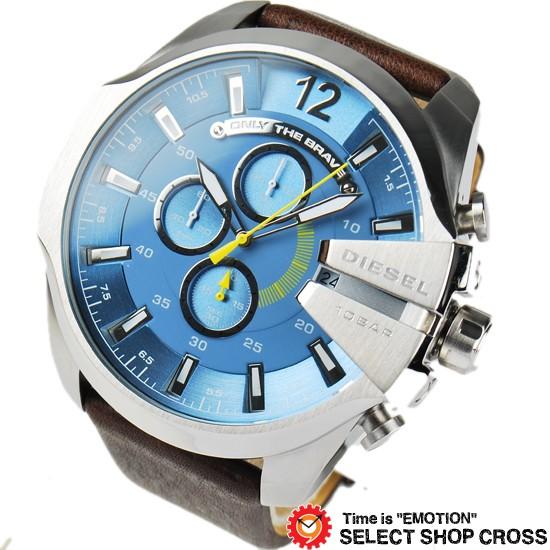 DIESEL ディーゼル メンズ 腕時計 クロノグラフ ...