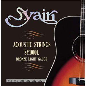 S.Yairi アコースティックギター弦 SY-1000L ライ...