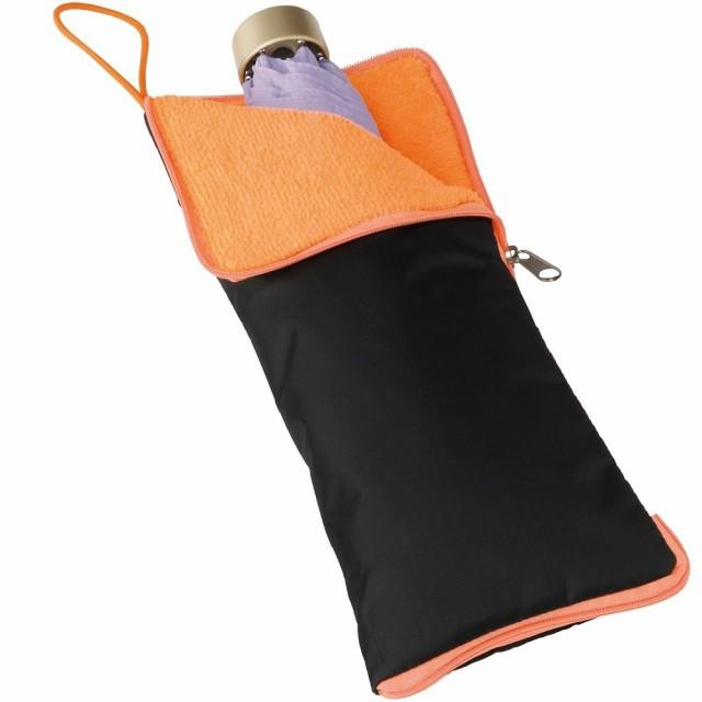 超吸水 マイクロファイバー 傘カバー オレンジ[メール便発送、送料無料、代引不可]
