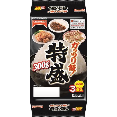 加ト吉 テーブルマーク ガッツリ飯! 特盛 300g×3...