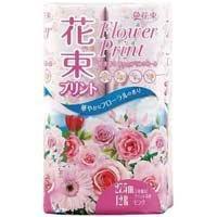 丸富製紙  トイレットペーパー 花束桃 W 27.5m12...