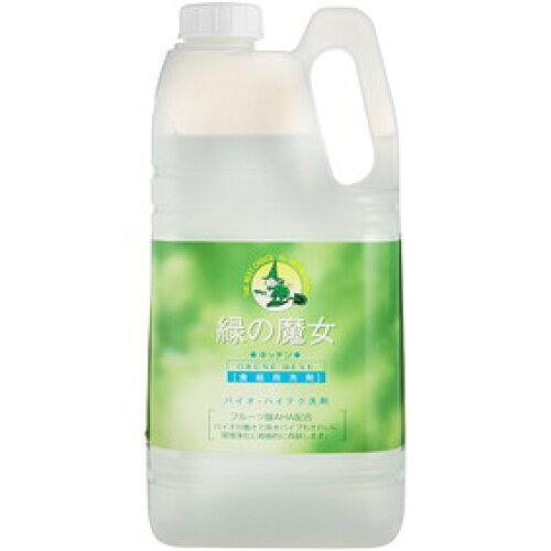 ヘルス&ビューティー 緑の魔女 キッチン用洗剤 2L...